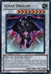 Yu-Gi-Oh Card Scrap Dragon Duelist Revolution