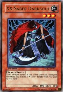 YuGiOh XX-SaberDarksoul Card