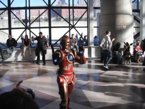 2010 New York Comic Con Iron Man