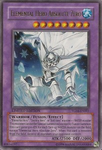 Elemental Hero Absolute Zero Yu-Gi-Oh Card Game