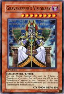 Gravekeeper's Visionary Yu-Gi-Oh card game