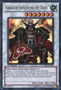 Karakuri Shogun mdl 00 Burei Yu-gi-Oh cards game