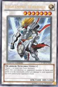 Lightning Warrior Yu-Gi-Oh Cards Game Shonen Jump
