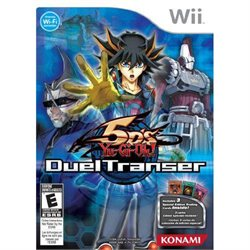 Yu-Gi-Oh 5D Duel Transer Wii Video Game Cover
