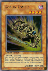 Goblin Zombie YuGiOh cards