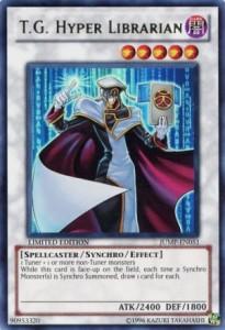 T.G. Hyper Librarian Yu-Gi-Oh Shonen Jump Magazine Promo Card