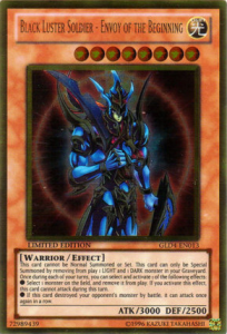 Black Luster Soldier-Envoy of the Beginning YuGiOh Card