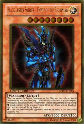 Black Luster Soldier-Envoy of the Beginning YuGiOh Card