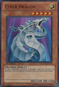 Cyber Dragon yugioh cards game