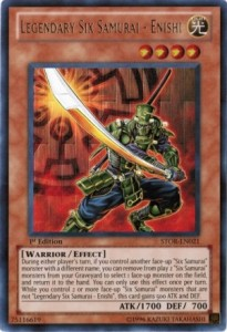 Legendary Six Samurai Enishi YuGiOh Card Game