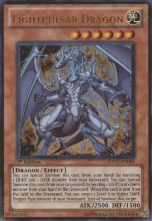 Lightpulsar Dragon Yugioh Card Game