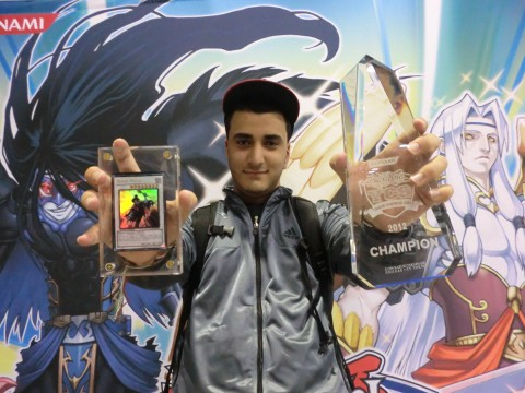 Nizar Sarhan 2012 Dallas YCS Champion