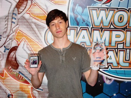 Tyler Tabman 2012 YuGiOh WCQ National Winner