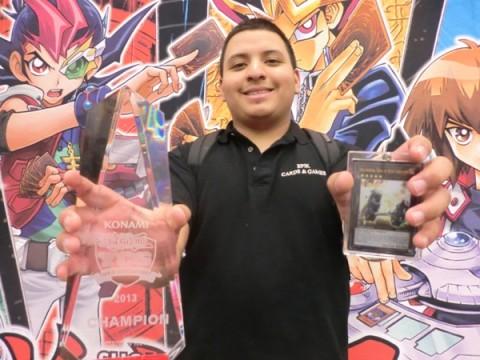Oscar Zelaya YuGiOh Championship Series YCS 2013 Auston Winner