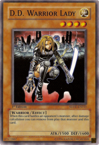 D.D. Warrior Lady YugiOh card Game