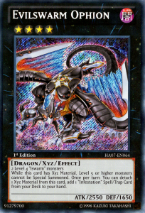 Evilswarm Ophion Yugioh Card Game
