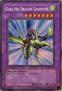 Gaia the Dragon Champion YuGiOh Card Game