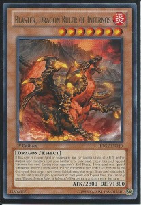 Blaster Dragon Ruler of Infernos YuGiOh Card Game
